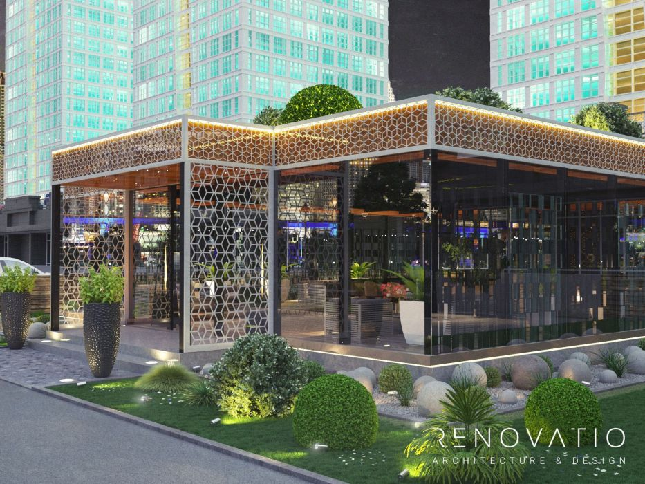 Design Projects - Cafes And Restaurants - At Astana River - A photo  13