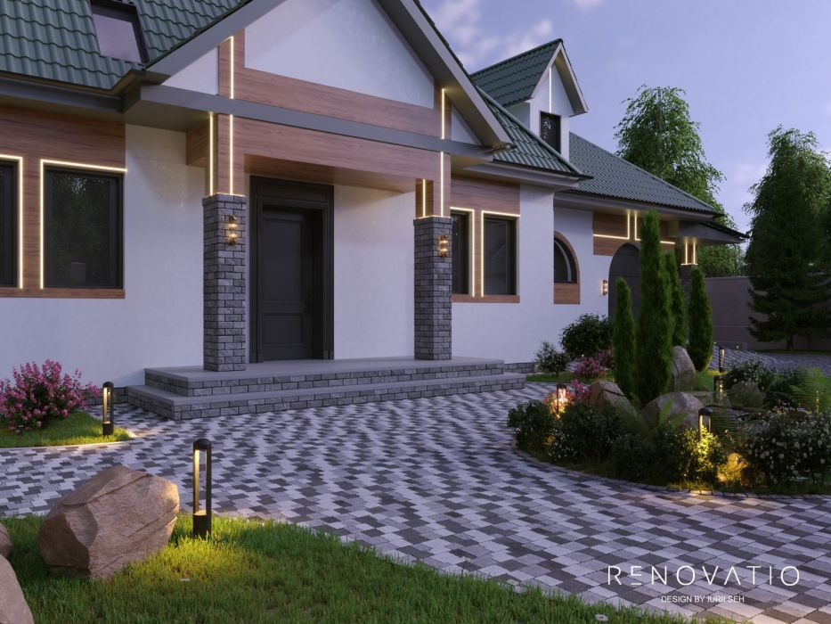Design Projects - Houses And Cottages - Vita Pochtovaia - A photo  1