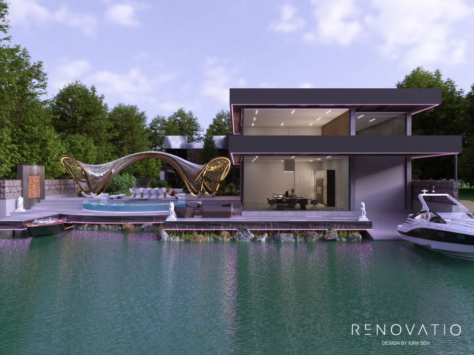 Design Projects - Houses And Cottages - House With Pier In Kozyn - A photo  5