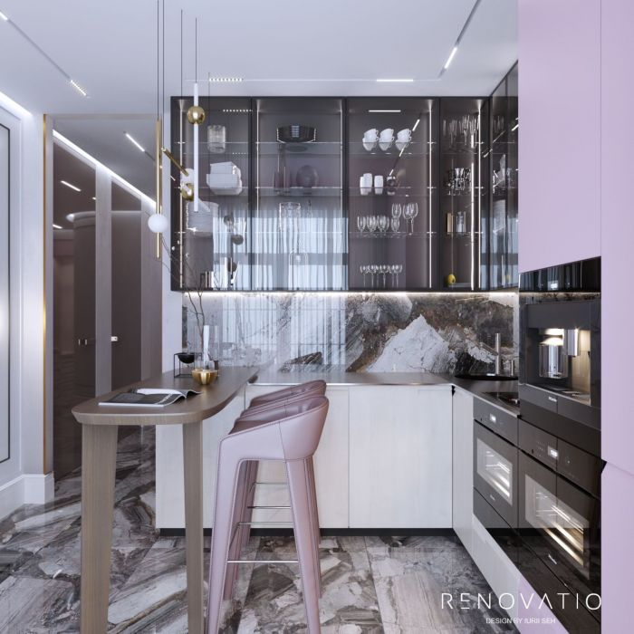 Design Projects - Apartments - Pechersk Plaza Rc - A photo  19