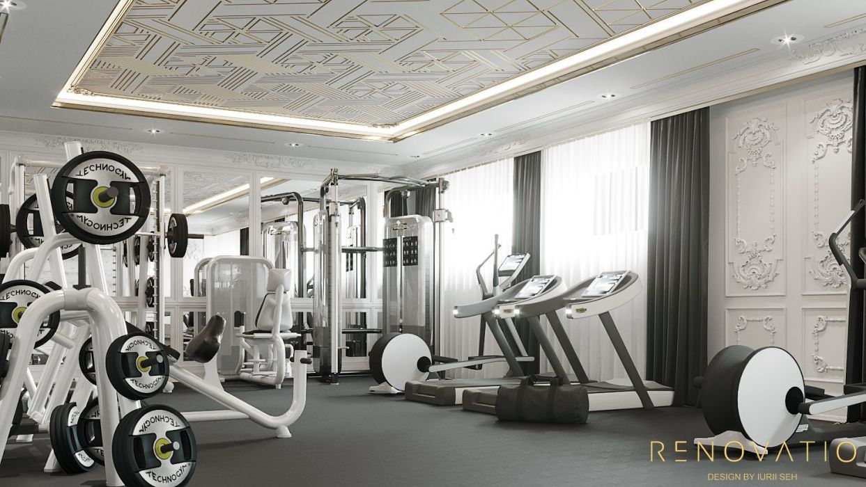 Design Projects - Gyms - Gym Hall In Cottage - A photo  4
