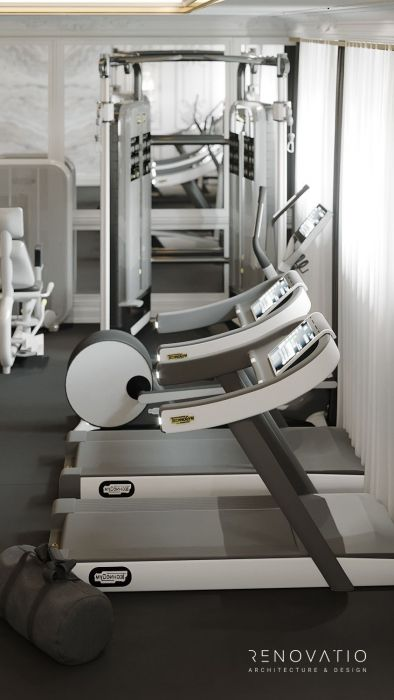 Design Projects - Gyms - Gym Hall In Cottage - A photo  6
