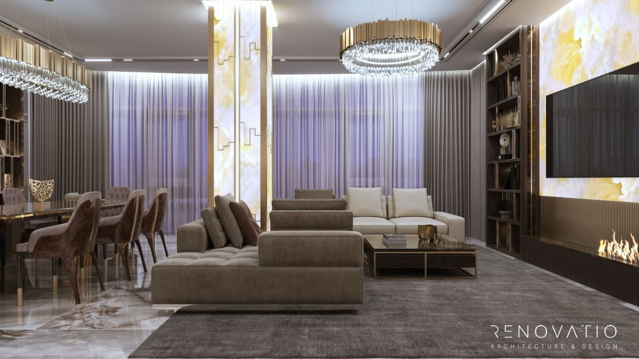 Design Projects - Apartments - Fountain Boulevard 240 Sqm - A photo  3