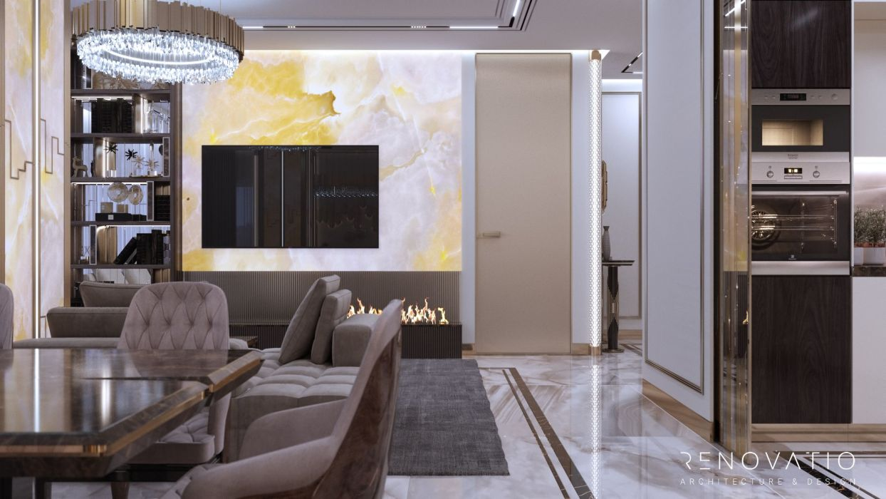 Design Projects - Apartments - Fountain Boulevard 240 Sqm - A photo  4