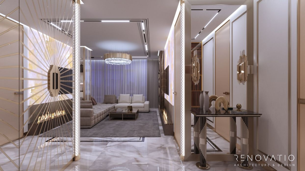 Design Projects - Apartments - Fountain Boulevard 240 Sqm - A photo  12