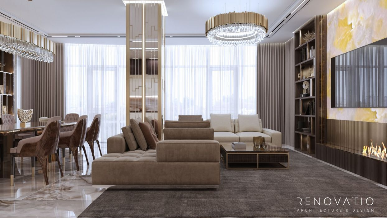 Design Projects - Apartments - Fountain Boulevard 240 Sqm - A photo  16