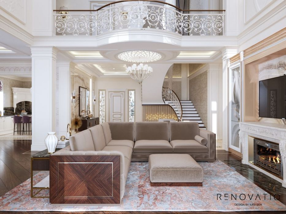 Design House Project in Neoclassical Style - Photo 2