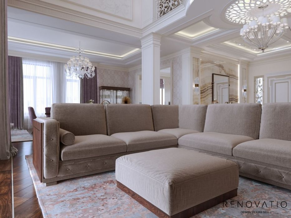 Design House Project in Neoclassical Style - Photo 4