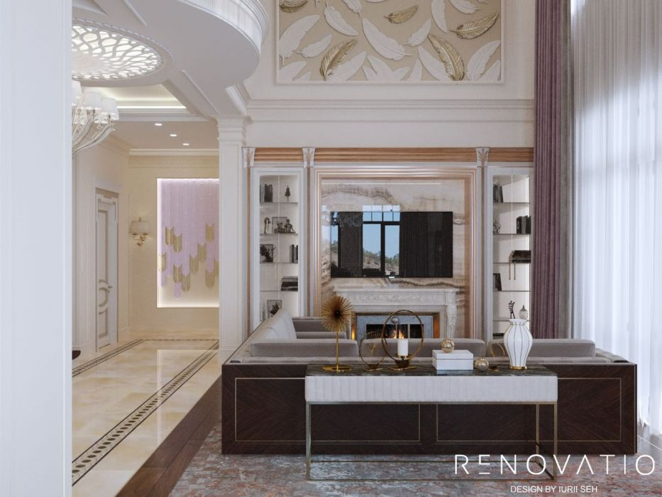 Design House Project in Neoclassical Style - Photo 3