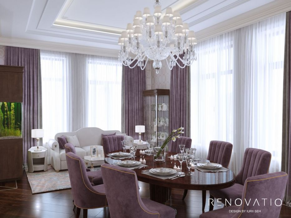 Design House Project in Neoclassical Style - Photo 6