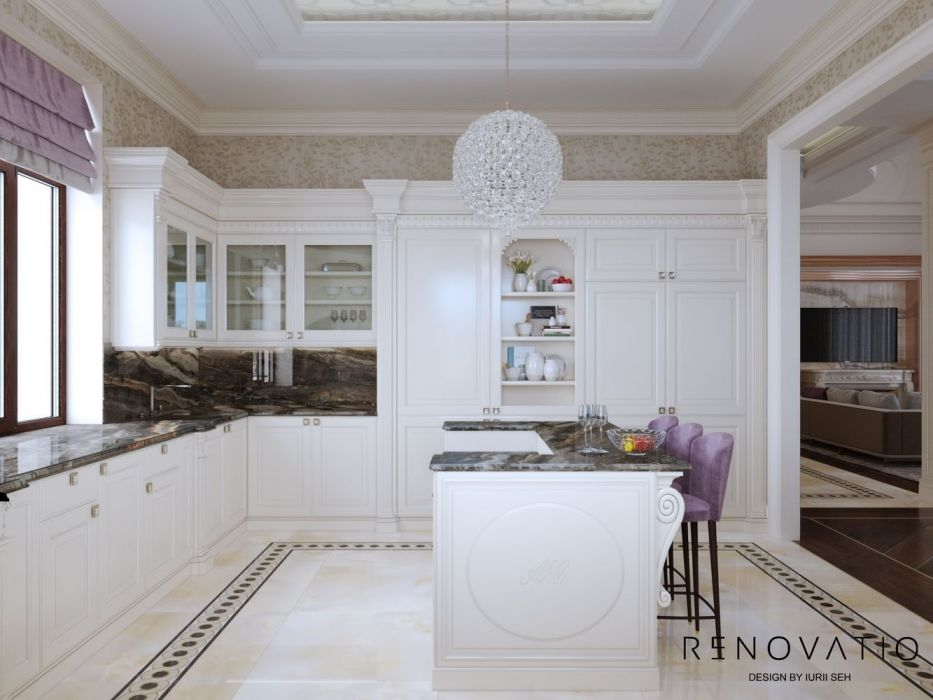 Design House Project in Neoclassical Style - Photo 10