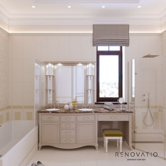 Design House Project in Neoclassical Style - Photo 37