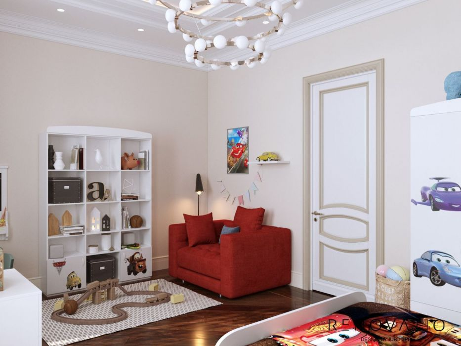Design House Project in Neoclassical Style - Photo 55