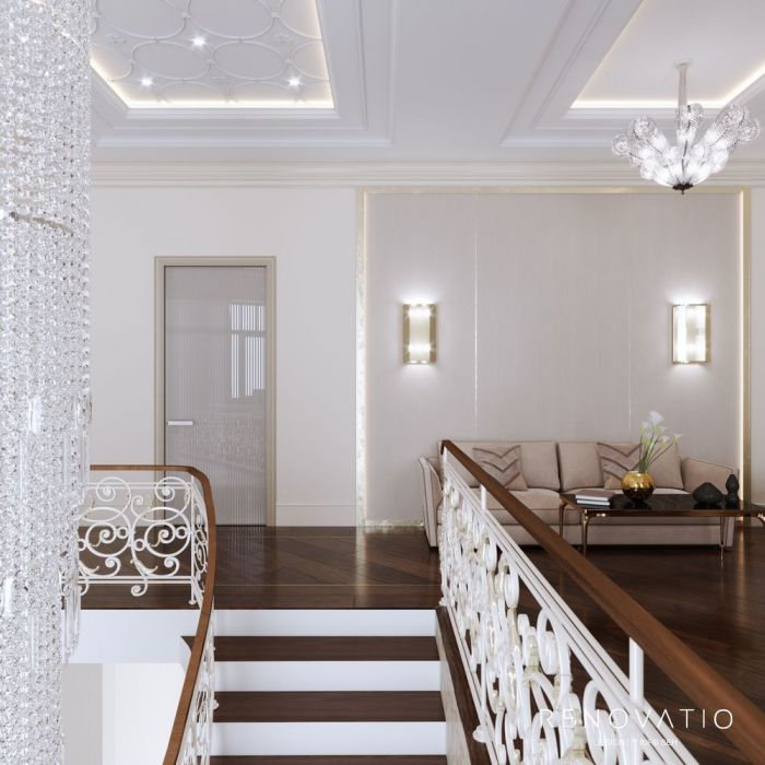 Design House Project in Neoclassical Style - Photo 63