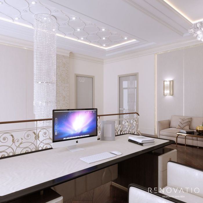 Design House Project in Neoclassical Style - Photo 64