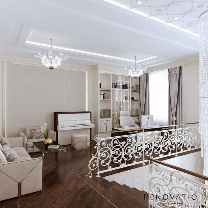 Design House Project in Neoclassical Style - Photo 65