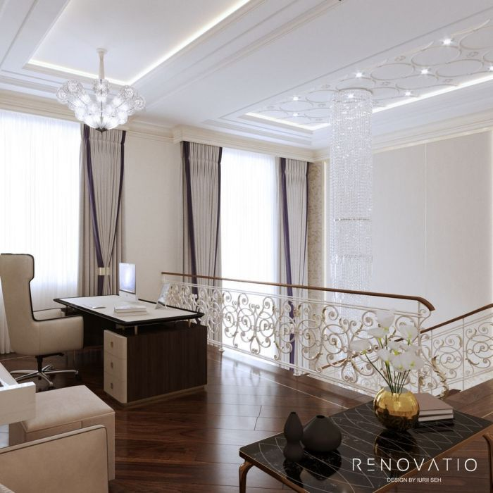 Design House Project in Neoclassical Style - Photo 66