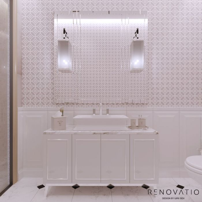 Design House Project in Neoclassical Style - Photo 77
