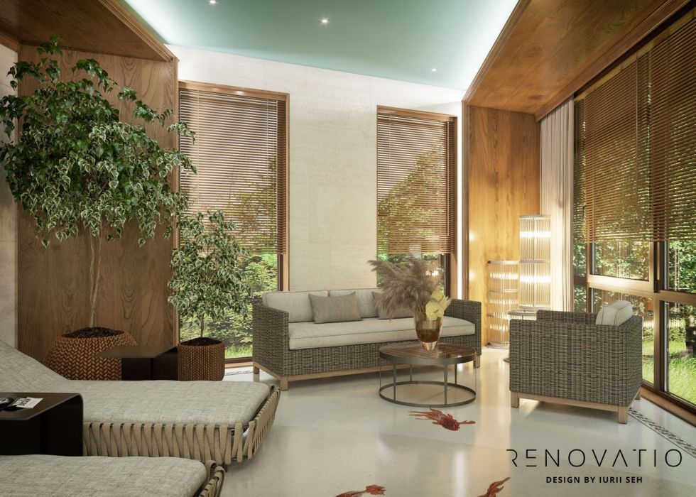 Design House Project in Neoclassical Style - Photo 84