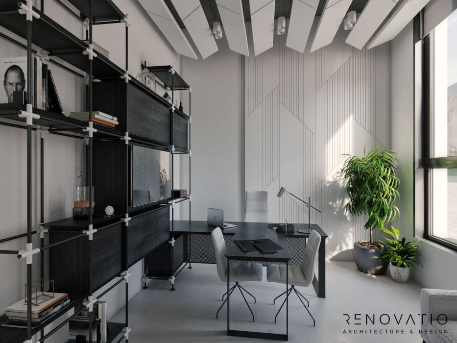 Design Projects - Offices - Office Time - A photo  1