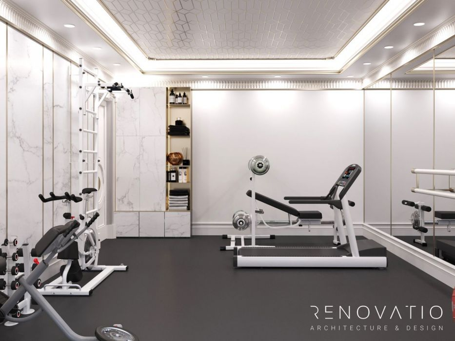 Design Projects - Gyms - Gym Hall In Cottage - A photo  7