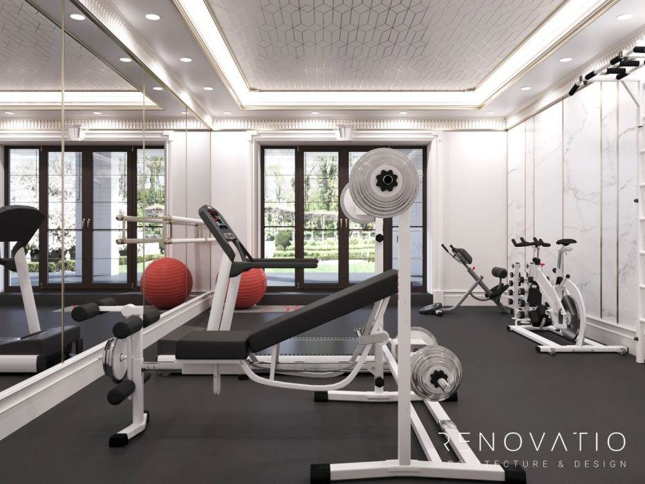 Design Projects - Gyms - Gym Hall In Cottage - A photo  8
