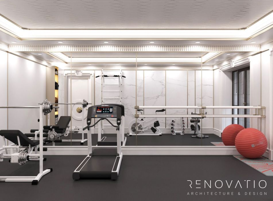 Design Projects - Gyms - Gym Hall In Cottage - A photo  9