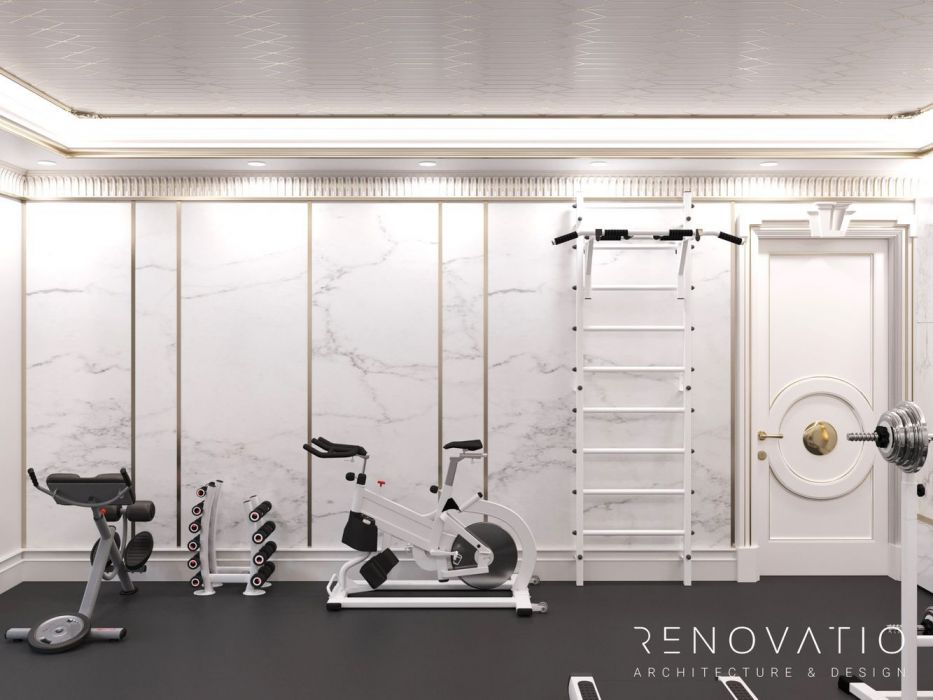 Design Projects - Gyms - Gym Hall In Cottage - A photo  10