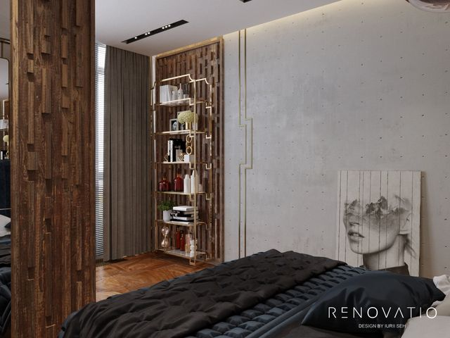 Design Projects - Apartments - Novopecherski Lypky Residential Complex - A photo 16