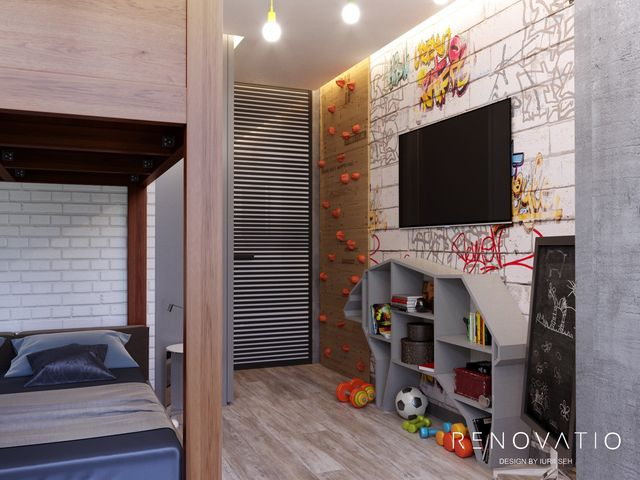 Design Projects - Apartments - Novopecherski Lypky Residential Complex - A photo 20
