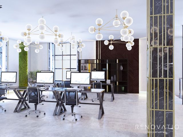 Design Projects - Offices - Office In Tower Business Center - A photo  3