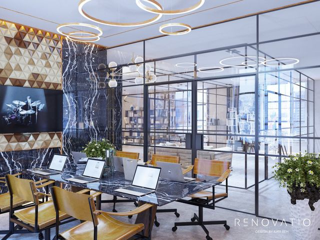 Design Projects - Offices - Office In Tower Business Center - A photo  7