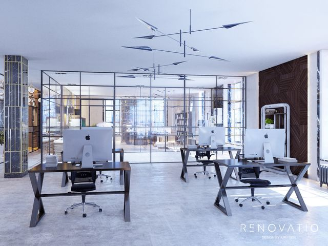Design Projects - Offices - Office In Tower Business Center - A photo  11